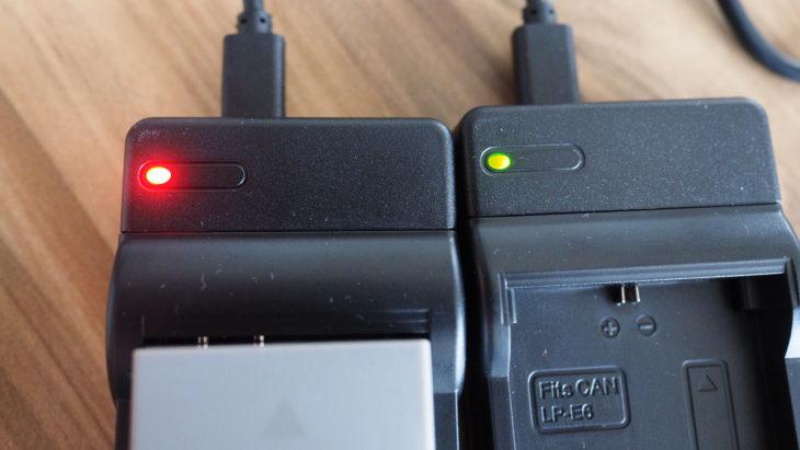 USB Akku-Ladegerät