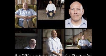 6 Fotografen, 1 Model, 6 völlig unterschiedliche Portraits