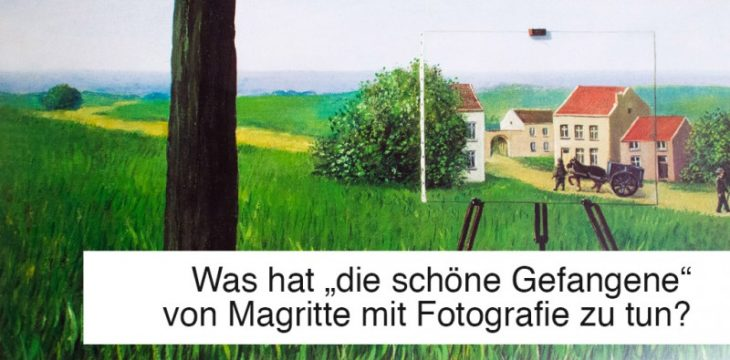 Die schöne Gefangene, René Magritte