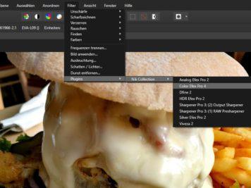 Affinity Photo über Filter und Plugins einsetzen