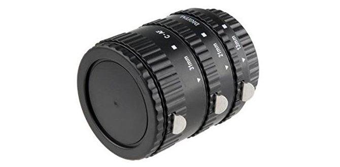 Khalia-Foto AF Autofokus Zwischenringe für Canon EOS