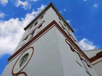 Bad Dürrenberg - Turm der Keuschberger Kirche