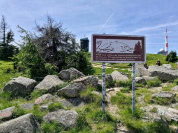 Brocken: Gedenktafel zur Grenzöffnung