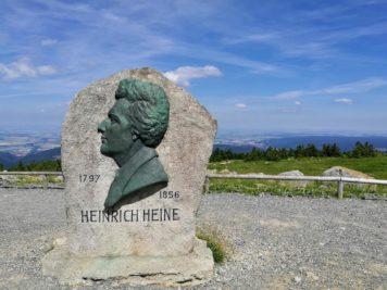 Heinrich Heine Denkmal auf dem Brocken