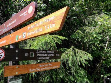 Wanderwege zum Brocken