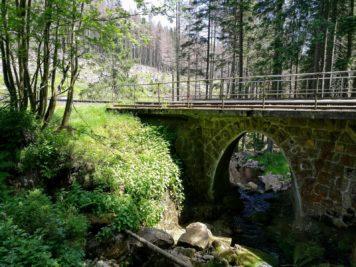 Brücke der Harzer Brockenbahn