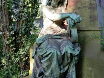 Grabanlage der Familie August Klughardt - Dessau Friedhof 3