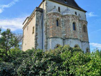 Doppelkapelle Landsberg, Südostseite