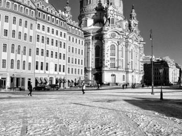 Dresdener Frauenkriche und QF Hotel