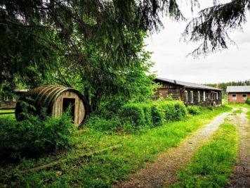 Ferienlager Neudorf (Harz) - Das Fass und die Mädchenbaracke