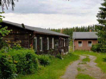 Ferienlager Neudorf (Harz) - Mädchenbaracke und Küche