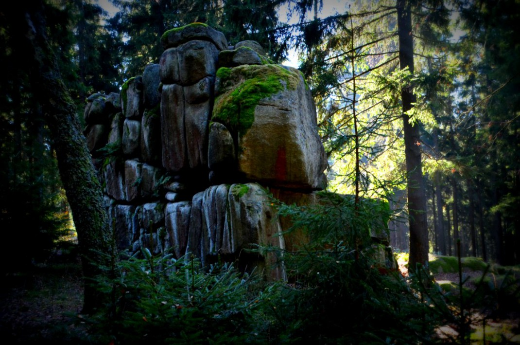 Große Teufelsmühle bei Friedrichsbrunn
