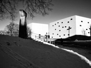 Hasenberg und Neue Synagoge Dresden