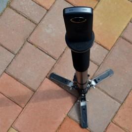 Jusino VM-361 mit aufgeschraubter Theta S