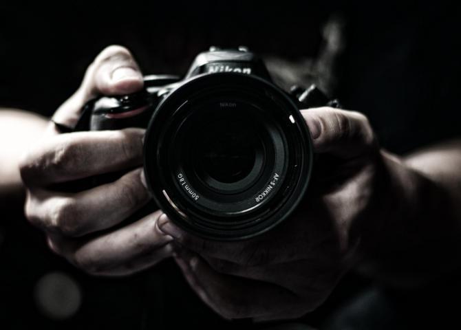 Kamera 50 mm Objektiv