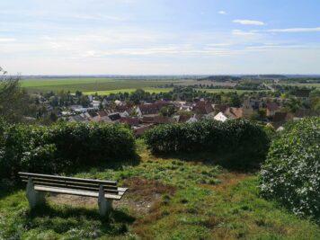 Landsberg - Blick vom Kapellenberg über die Stadt