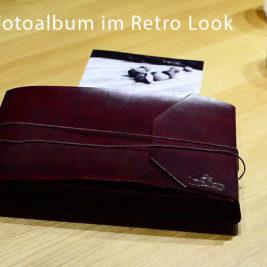 Leder Fotoalbum Indiary Retro Style
