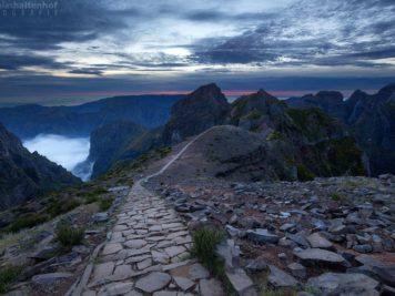 In den Bergen auf Madeira (Foto: Matthias Haltenhof)