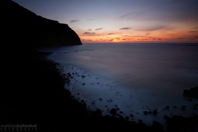 Sonnenuntergang auf Madeira (Foto: Matthias Haltenhof)