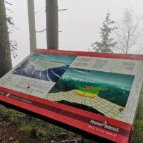 Panoramaweg Piesendorf: Schautafel Salzachgletscher