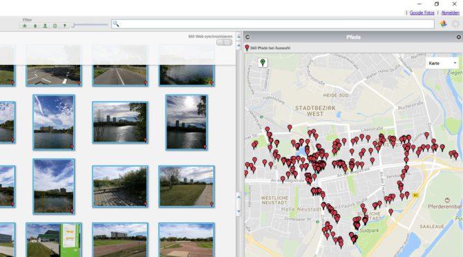 Picasa 3 mit Google-Maps