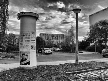 Silberhöhe: Coimbraer Straße, Blick zur Hanoier Straße 34-35