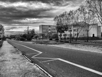 Silberhöhe: Grundschule Hanoier Straße, Ostseite