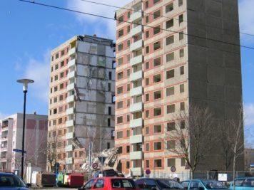 Abriss Klewitz Ecke Staude Straße