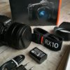 Sony RX10 III Bridgekamera mit Zubehör im Lieferumfang