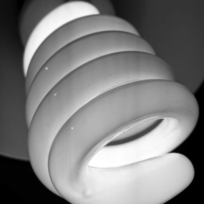Glühlampe vom Fotozelt