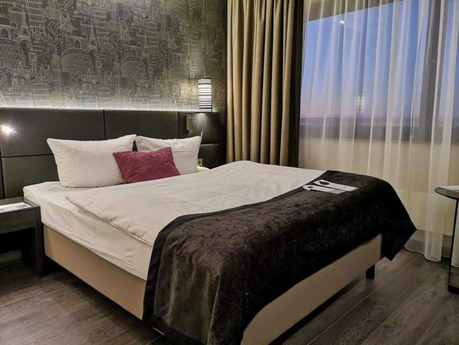 Bett/Zimmer im The Westin Hotel Leipzig