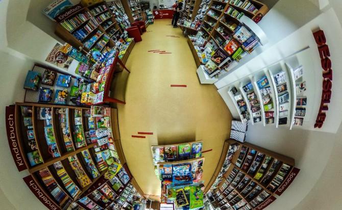 Mein Buchladen in Köthen ohne Stativ oder Logo