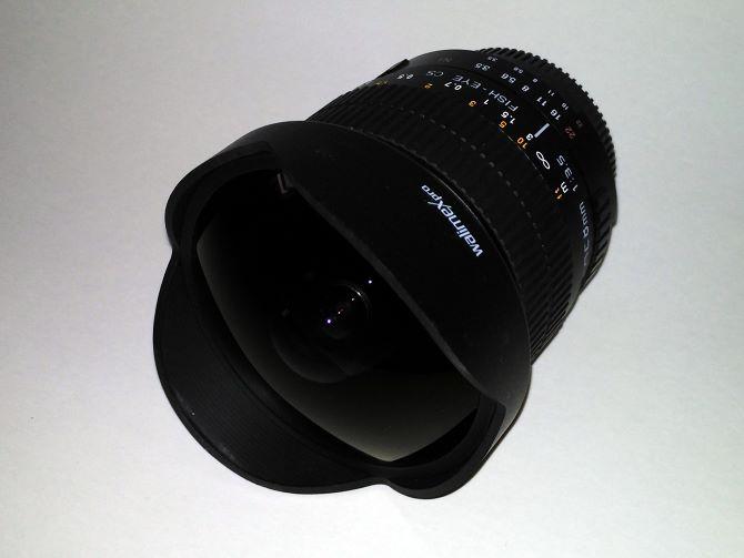 Walimex Pro Fish-Eye Objektiv 8mm 1:3,5 für Nikon