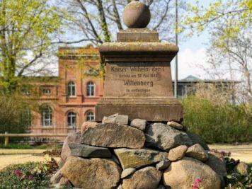 Wittenberg - Kaiser Wilhelm I. Denkmal