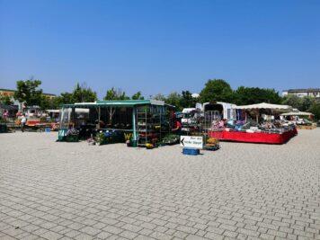 Markttag in Wolfen-Nord