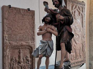 Figur des Heiligen Josef in der Pfarrkirche in Zell am See