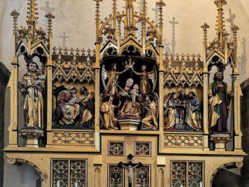 Hochaltar in der Pfarrkirche in Zell am See