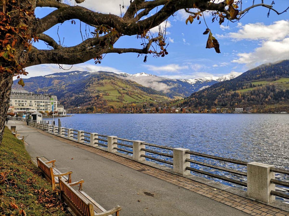 Der Zeller See im Salzburger Land, Österreich