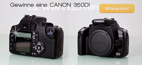 Gewinnspiel zu Weihnachten - gewinne eine Canon Spiegelreflex Kamera
