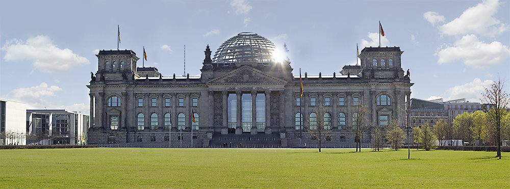 Das Reichstagsgebäude in Berlin › FotoBlog  Das Reichstagsg...
