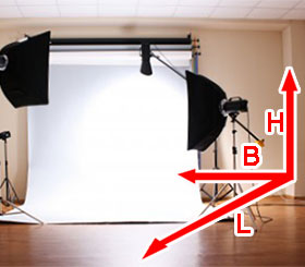 diy fotostudio zuhause einrichten die raumgr e fotoblog. Black Bedroom Furniture Sets. Home Design Ideas