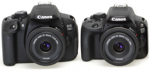 canon 100D vs Canon 700D