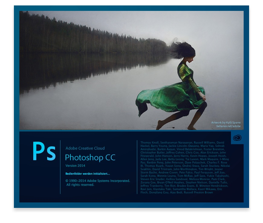 photoshop cc 2014 start
