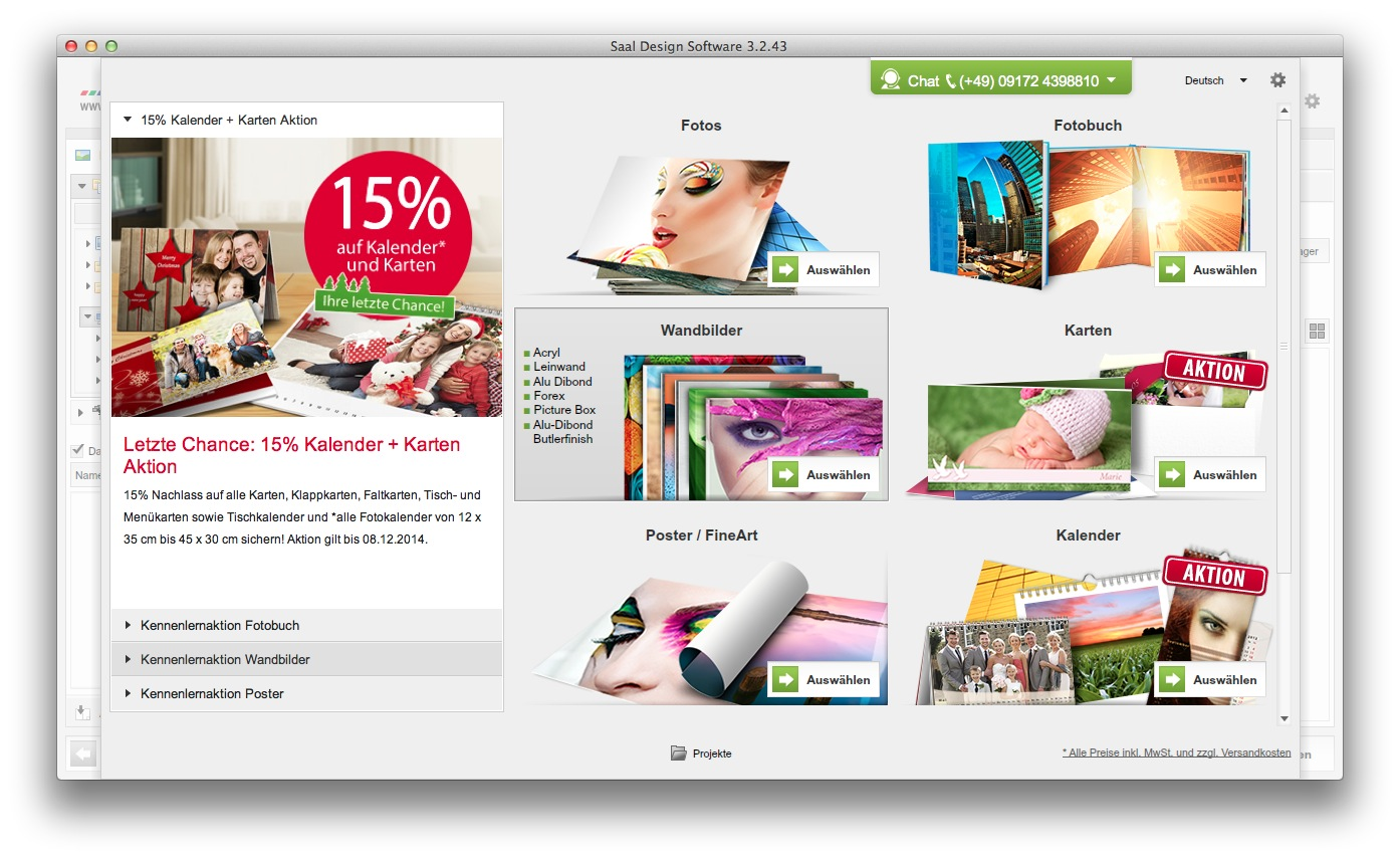 saal digital fotobuch software 09.54